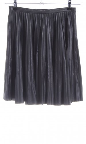 Mango Suit Jupe à plis noir style décontracté
