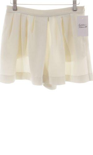 Mango Suit Jupes-culottes crème style minimaliste