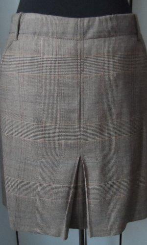 Marc Aurel Wollen rok beige-grijs-bruin Gemengd weefsel