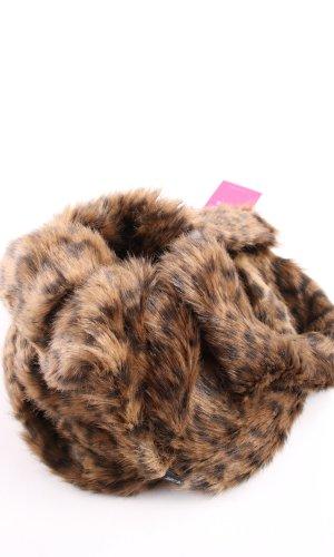Marc Cain Écharpe ronde motif léopard style extravagant