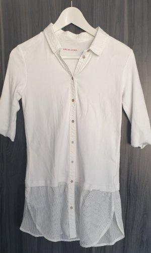 Marc Cain Lange blouse wit