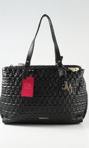 Marc Cain Sports Bag black-gold-colored casual look