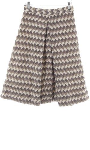 Marc Jacobs Wollen rok zigzag patroon klassieke stijl