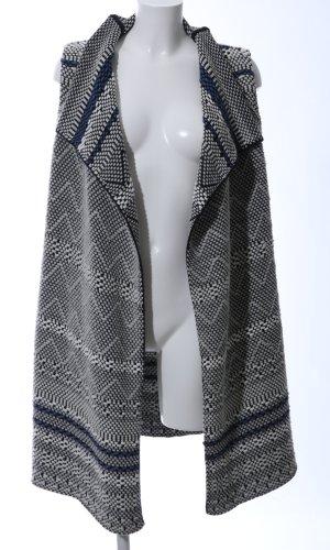 Marc O'Polo Chaleco de punto largo gris claro-negro elegante