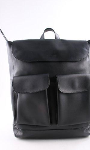 Marc O'Polo Sac à dos pour ordinateur portable noir style décontracté