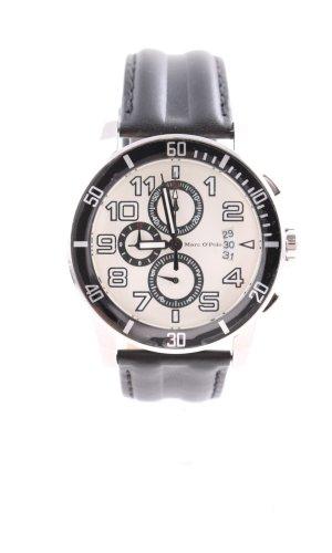 Marc O'Polo Reloj con pulsera de cuero multicolor estilo «business»