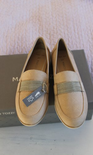 Marco Tozzi Moccasins oatmeal leather