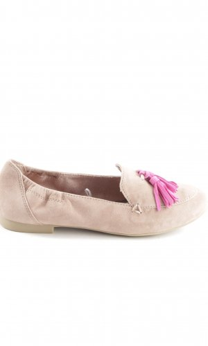Marco Tozzi Moccasins cream-pink business style