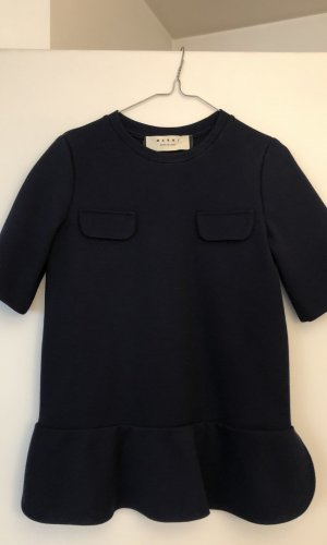 Marni Sweater met korte mouwen donkerblauw