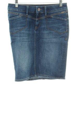 Mavi Jeans Co. Spijkerrok blauw casual uitstraling