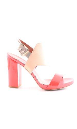 Max & Co. High Heel Sandaletten hellorange-nude Elegant