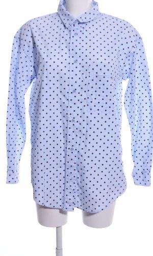 Max & Co. Long Sleeve Shirt blue-black check pattern casual look