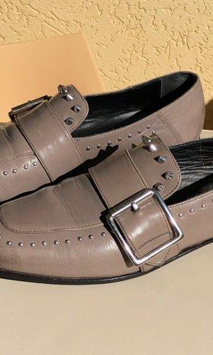 Melvin & hamilton Moccasins grey leather
