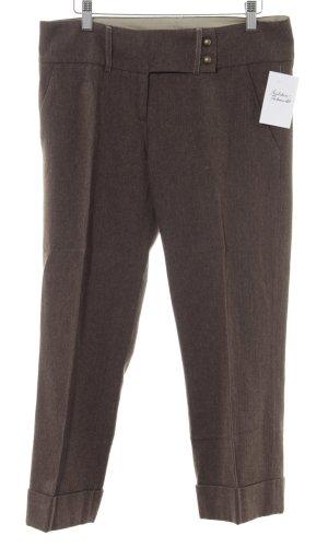 Mexx Bundfaltenhose graubraun-bronzefarben meliert Brit-Look