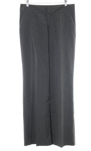 Mexx Bundfaltenhose schwarz-weiß Nadelstreifen Business-Look