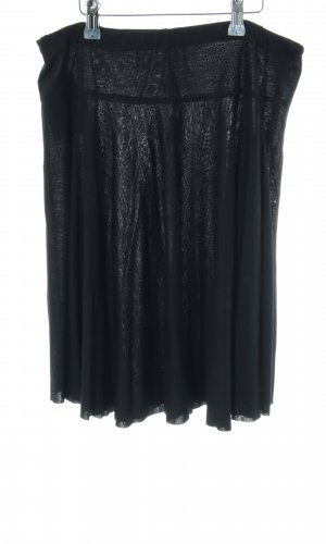 Mexx Jupe à plis noir style décontracté