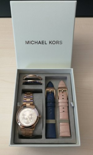 Michael Kors Damen Multifunktionsuhr Runway (5-teiliges Set) neu, ungetragen