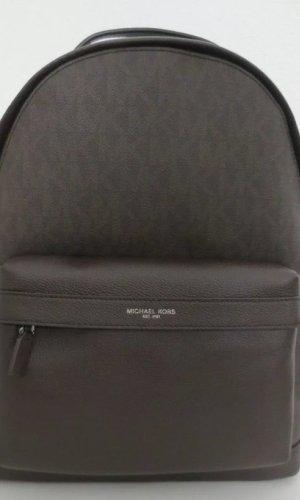 Michael Kors Sac à dos pour ordinateur portable brun noir cuir