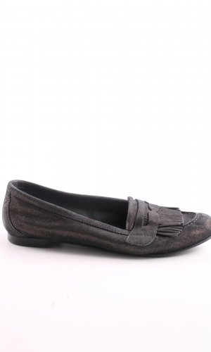minelli Moccasins brown casual look