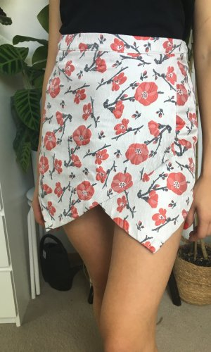 Missguided Jupes-culottes multicolore tissu mixte