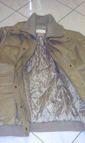 291 Venice Leather Jacket camel-olive green leather