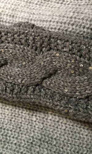 Earmuff grey mixture fibre