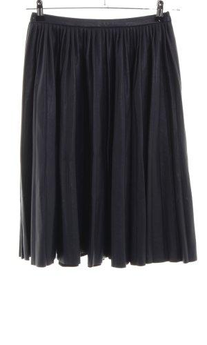 Modström Jupe à plis noir style décontracté