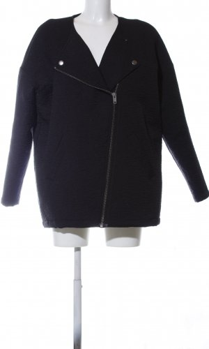 Monki Oversized Jacke schwarz Casual-Look