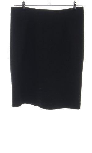 Wollen rok zwart casual uitstraling