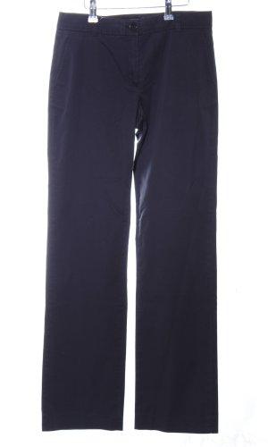 More & More Anzughose blau Business-Look