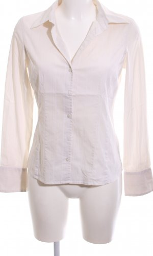 More & More Long Sleeve Shirt natural white striped pattern business style