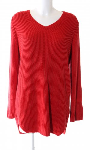 More & More Sweaterjurk rood casual uitstraling
