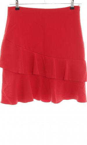 More & More Volanten rok rood casual uitstraling