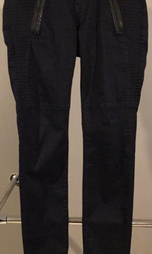 Mos Mosh Pantalón elástico azul oscuro