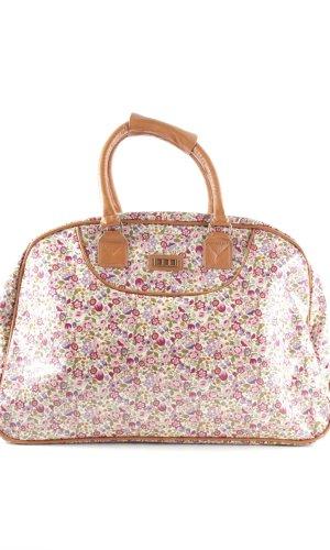 MSK Bolso de viaje estampado floral look casual