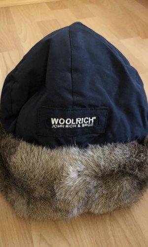 Woolrich Chapeau en fourrure noir