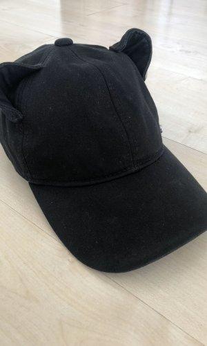 Karl Lagerfeld Stoffen muts zwart