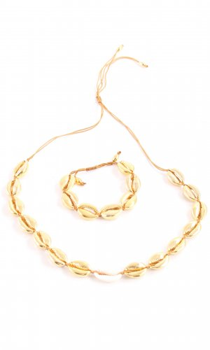Shell Necklace gold-colored elegant