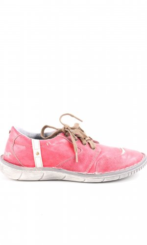 Mustang Shoes Schnürsneaker pink Casual-Look