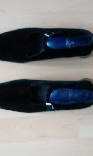 1.2.3 Paris Zapatos estilo Richelieu burdeos-marrón