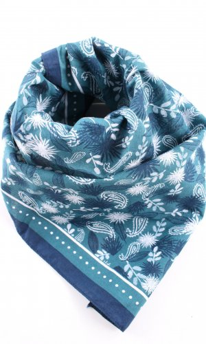 my little box Halstuch blau-weiß abstraktes Muster Casual-Look