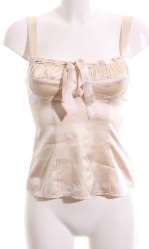 Nanette Lepore ärmellose Bluse creme Elegant