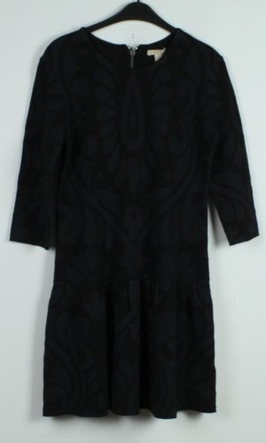 NEU Burberry Kleid Gr. M blau schwarz gemustert (19/11/330)