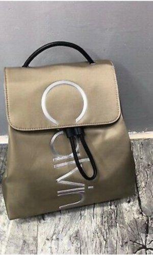 Calvin Klein Sac à dos pour ordinateur portable beige