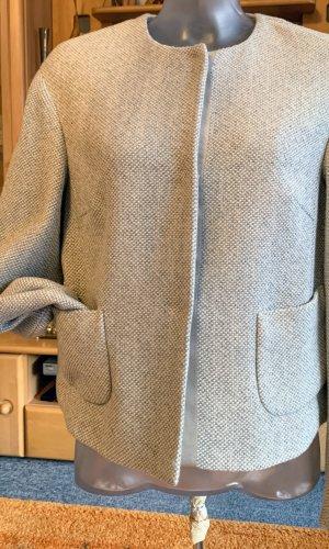 Wollen blazer lichtgrijs-grijs Wol