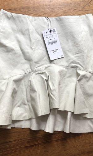 Zara Basic Volanten rok wit