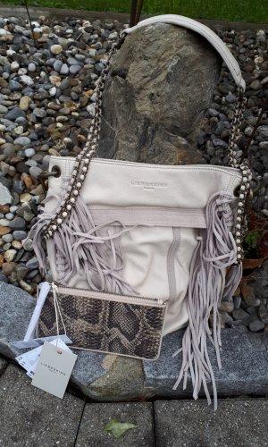 Liebeskind Berlin Fringed Bag oatmeal-light grey leather