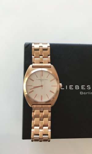 Liebeskind Watch With Metal Strap white-sand brown