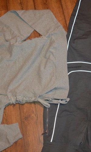 Topshop Crewneck Sweater light grey-grey