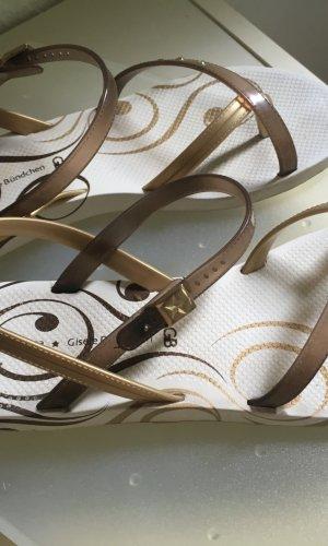 """Neuwertig! Sandalen von """"IPANEMA""""/Giselle Bündchen"""